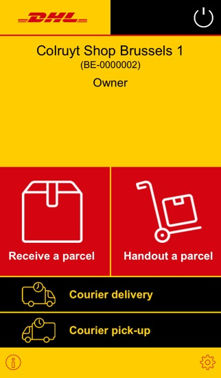 Screenshot for DHL Paketshop in Austria App Store