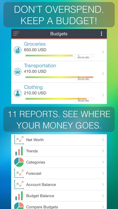 MoneyWiz 2 - Personal Finance Screenshots