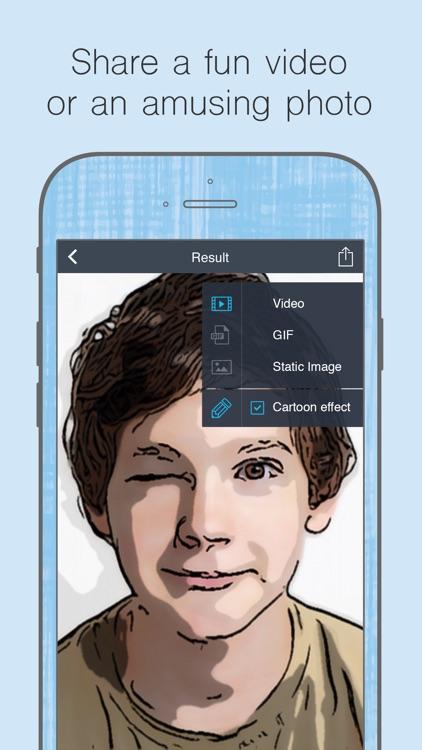 Cartoon Face - video effects & photo filters: face screenshot-4