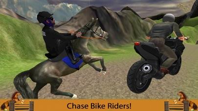 Mounted Horse Police Officer Chase & Arrest Criminals-1