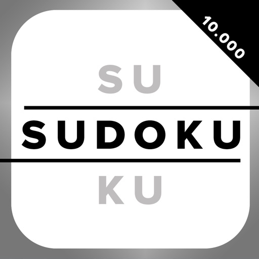 SUDOKU Big Pack - 10000 Sudokus in 1 - Free