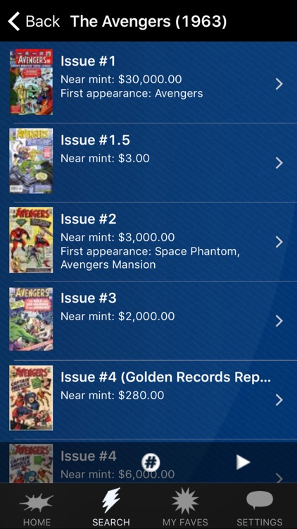 Zap-Kapow! The Comic Book Price Guide screenshot-2
