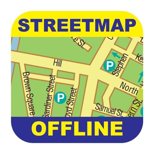 布宜诺斯艾利斯(阿根廷)离线街道地图