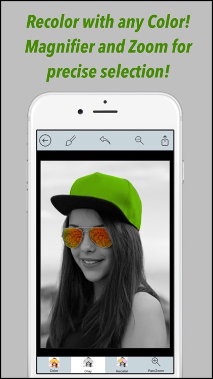 Color Splash Effect.s Pro - Photo Editor for Selective Recolor on Grayscale Image