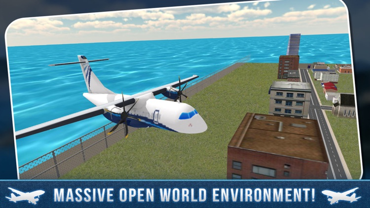 Real Airport City Air Plane Flight Simulator screenshot-1