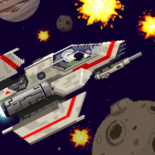 Action Star Fighter - Retro Space Shooter Game