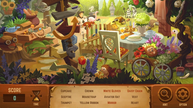 Alice in Wonderland: A Hidden Object Game screenshot-3