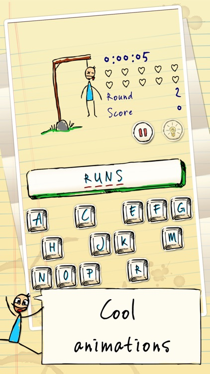 Hangman Hero FREE screenshot-2