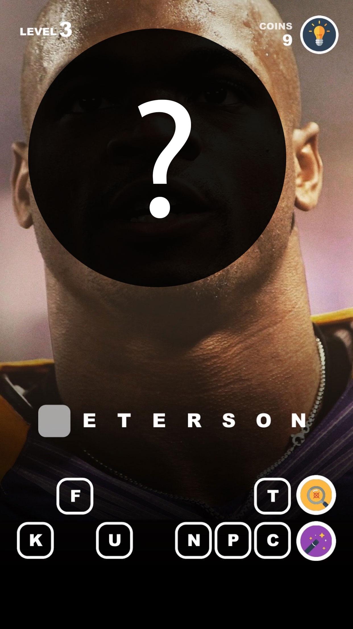 Guess Football Players – photo trivia for nfl fans Screenshot
