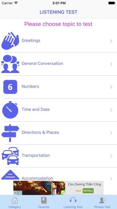 Spanish conversation free app price drops screenshot 8 for spanish conversation free m4hsunfo