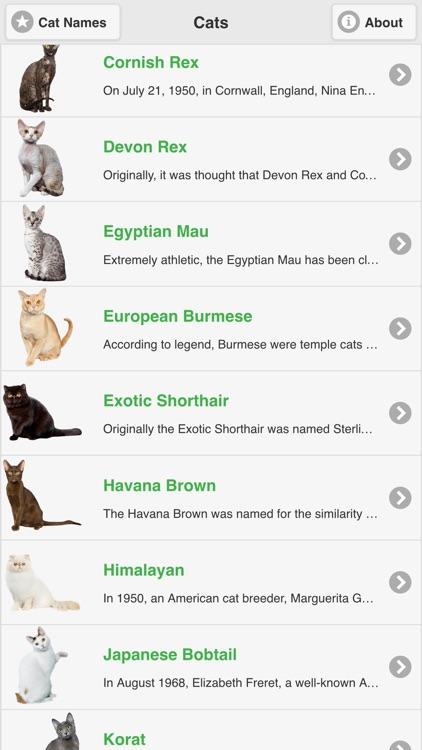 Cat Breeds Free