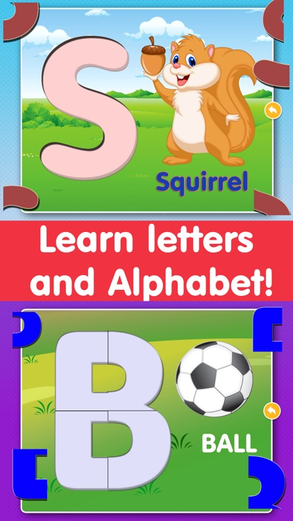 Alphabet Puzzles Games Kids & Toddlers free puzzle by ...