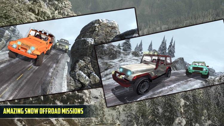 4X4 Offroad Jeep Mountain Hill screenshot-4