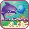 水中世界でのサメや友人