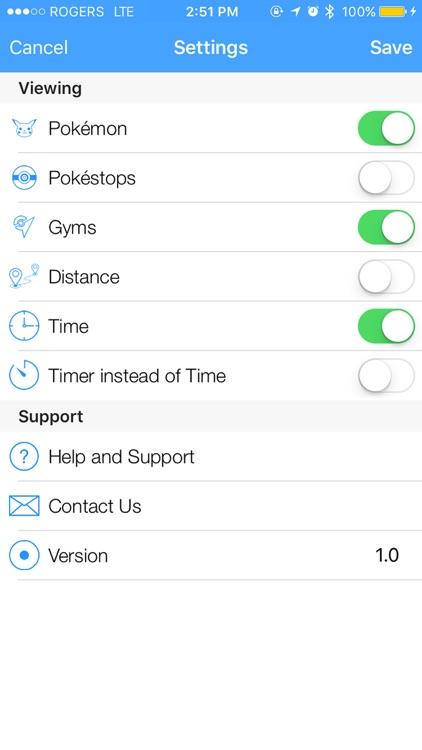 Live Radar - Maps and Notification for Pokémon GO screenshot-3