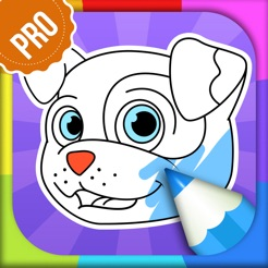 Dog Coloring Pages - Puppy Coloring Games for Boys and Girls PRO on ...