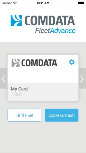comdata account access