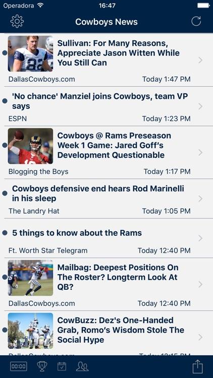 Football News - Dallas Cowboys