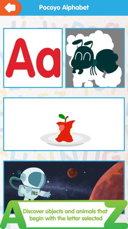 Pocoyo Alphabet ABC screenshot-4