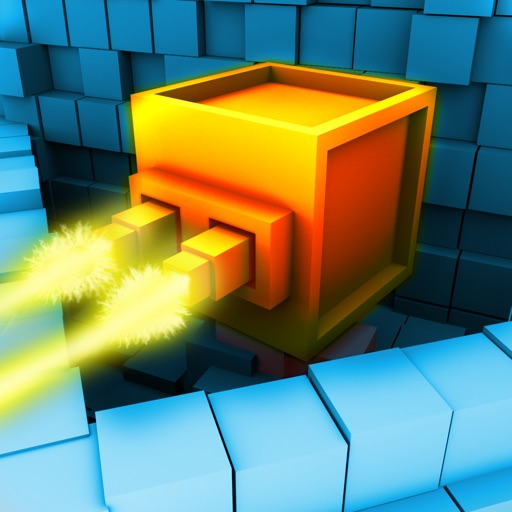 Block Defender: The Pixel Defense 3D & HD iOS App
