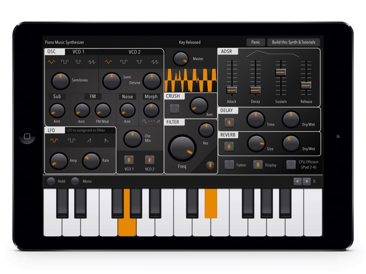 Music Synthesizer Piano: Full-Features Midi Melody keyboard