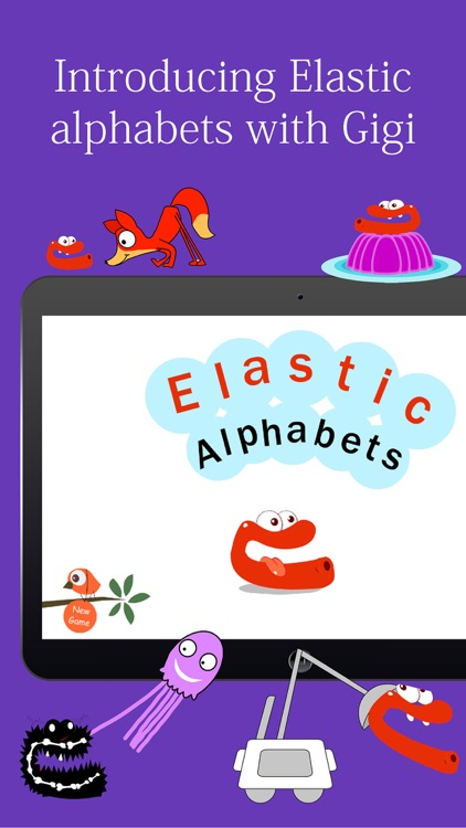 Elastic Alphabets® for kids : Educator recommended learning game for preschoolers