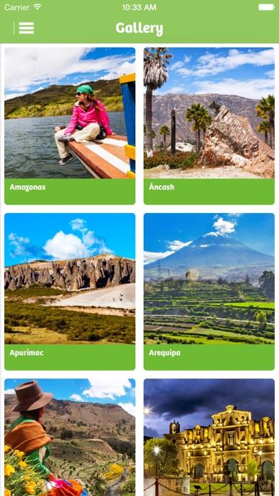Peru Travel app image