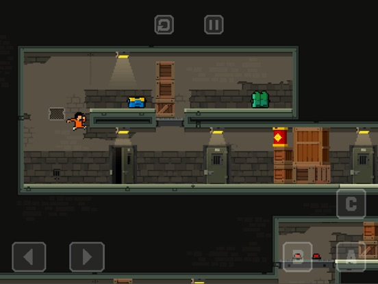 Prison Run and Gun на iPad