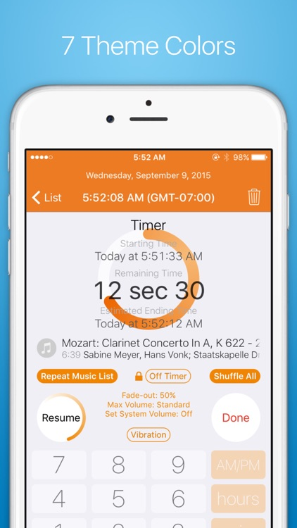 Musica Timer - Earphone Timer with Flexible Commands, Smart Input with a Numeric Keypad