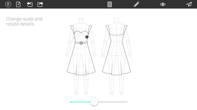 Fashion Design FlatSketch screenshot-3