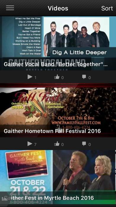 Gaither Vocal Band screenshot three