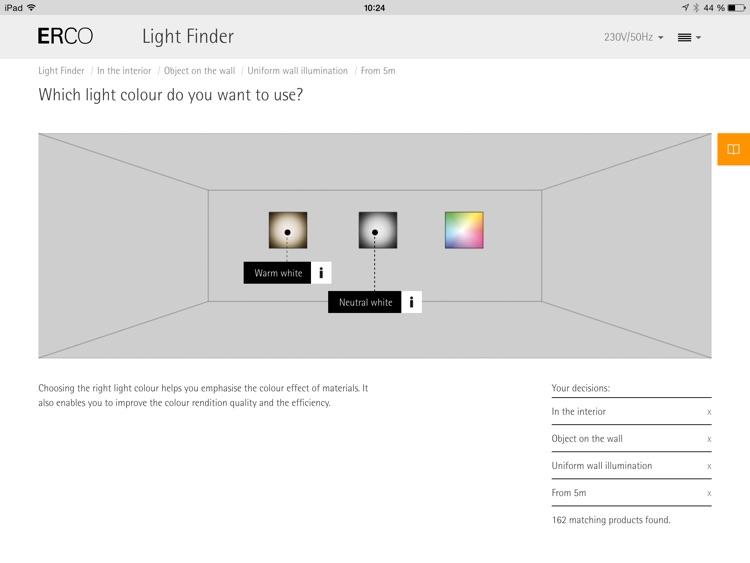 ERCO Light Finder screenshot-3