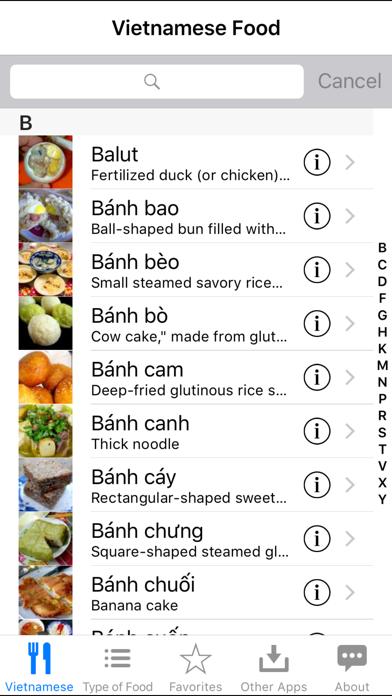 Guide To Vietnamese Food screenshot one