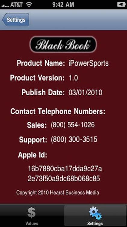 Black Book iPowerSports screenshot-3
