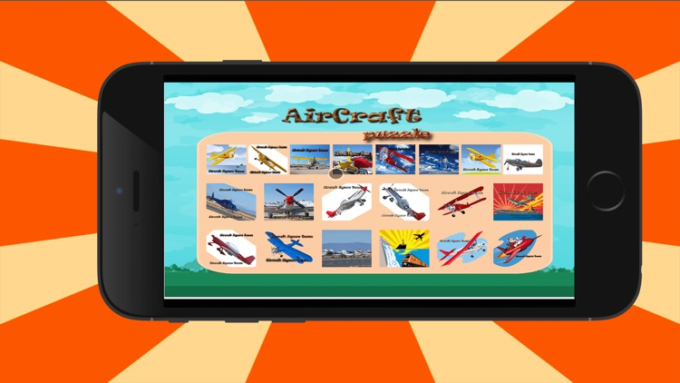 aircrafts jigsaw - Animated Jigsaw Puzzles for Kids with aircraft Cartoons!
