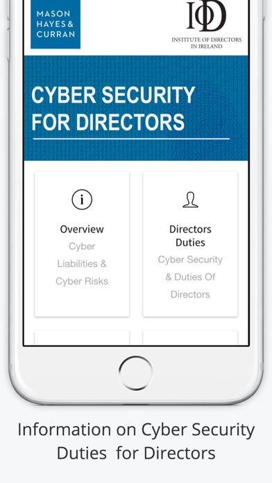 Cyber Security for Directors screenshot one