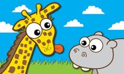 Giraffe's Matching Zoo TV