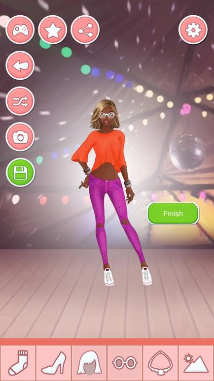 Superstar Dress up - Fashion Star Girl Makeover screenshot-4