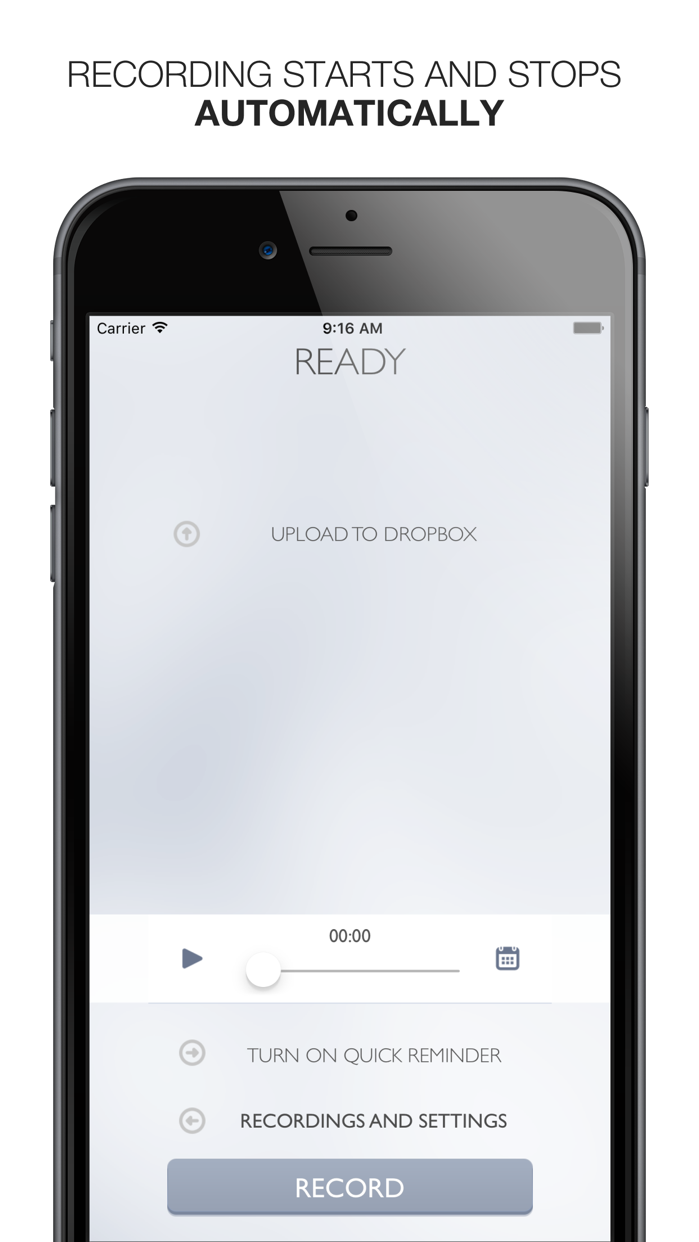 Say&Go Voice Notes and Inbox Screenshot