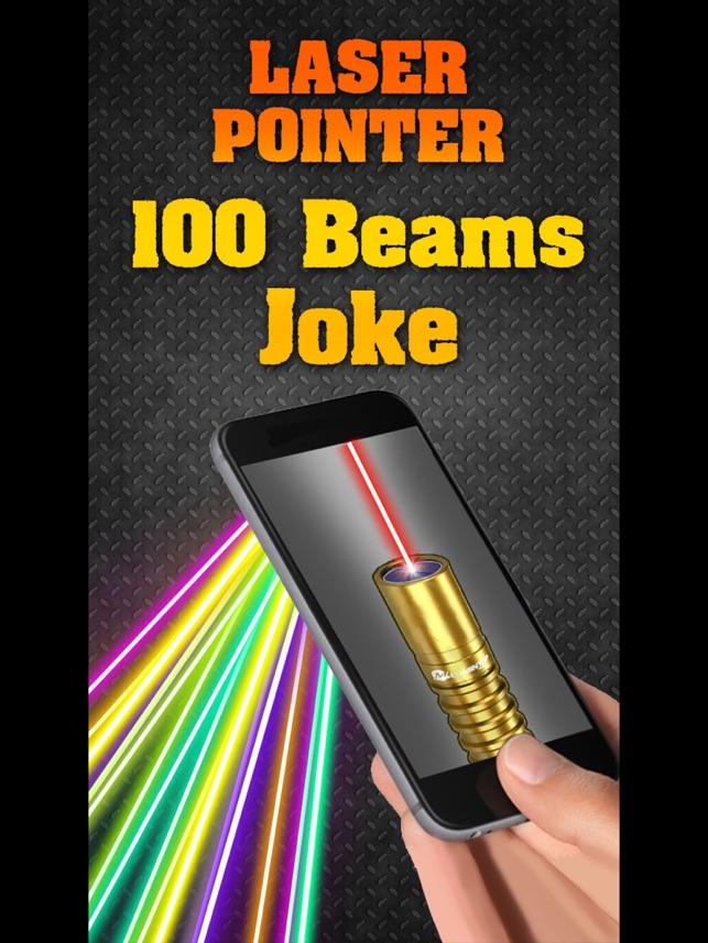 Laser Pointer 100 Beams Joke On The App Store