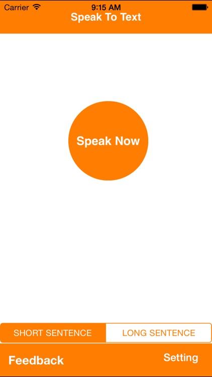iSpeak - Speak To Text
