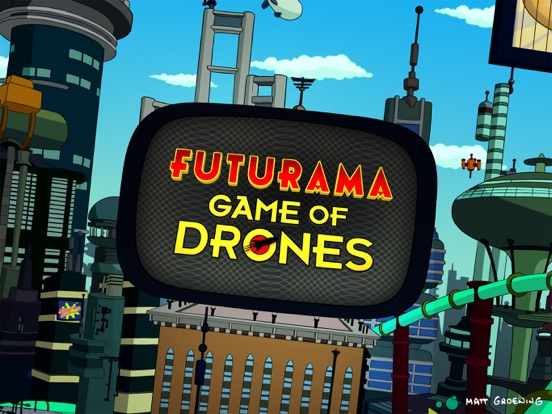 Игра Futurama: Game of Drones