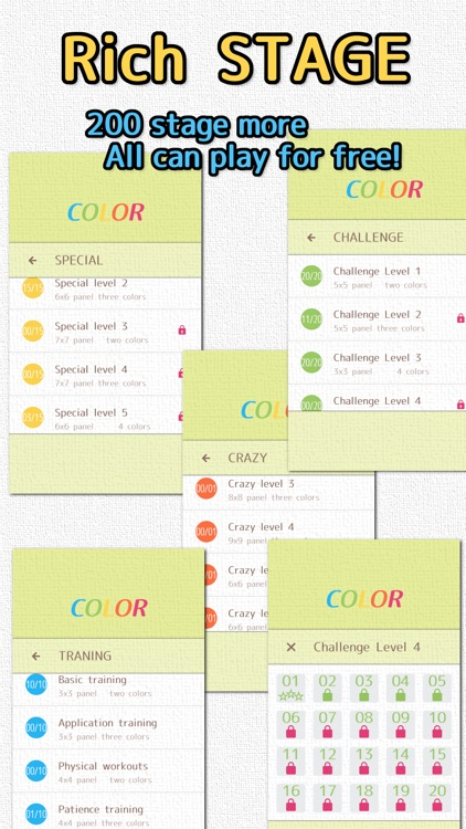 COLOR - Brain training slide puzzle - screenshot-3