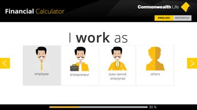 Commonwealth Life Financial Calculator screenshot four