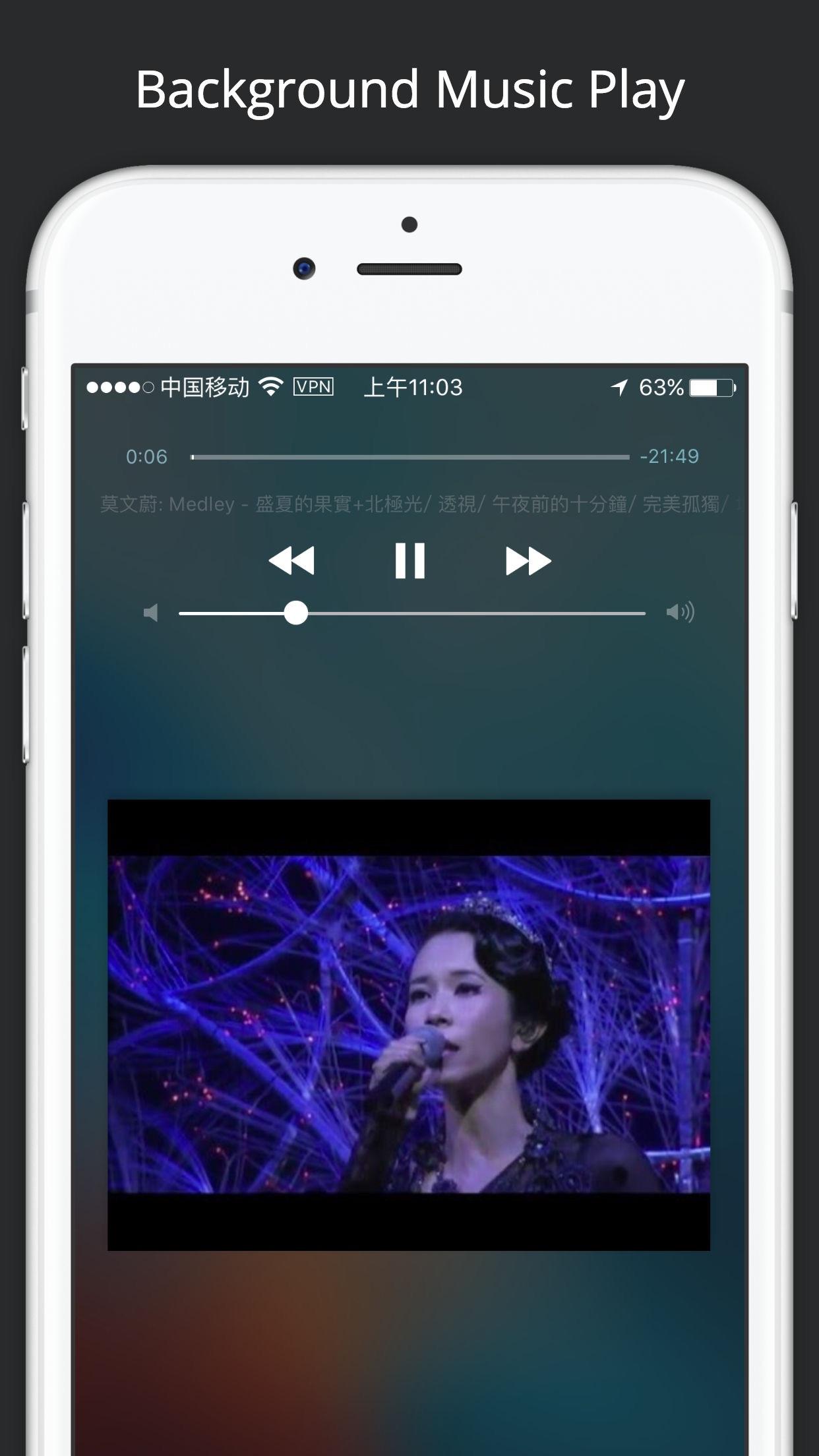 Tube Master - Free Music Video Player for YouTube Screenshot
