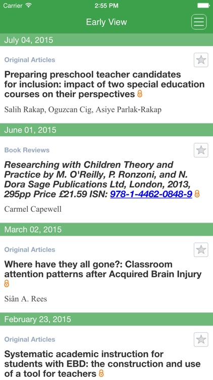 Journal of Research in Special Educational Needs screenshot-4