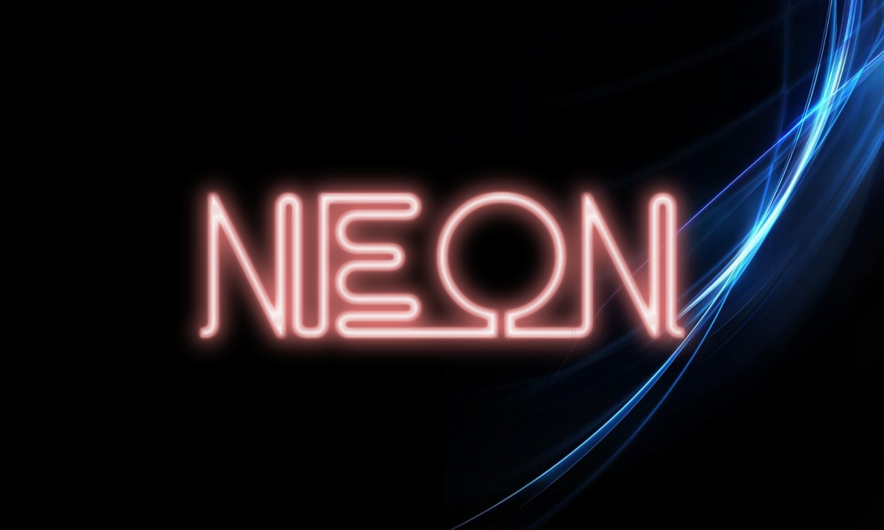 Neon TV - Animated Neon Sign / Image Maker