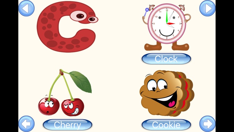 ABC Words of My First Learning Flash Cards screenshot-3