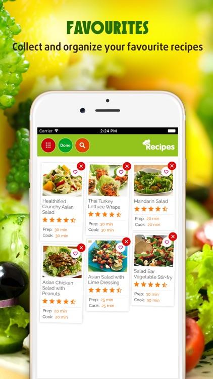 Salad Recipes Pro ~ The Best Easy & Healthy Salad Recipes screenshot-3