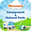Wisconsin - Campgrounds & National Parks icon